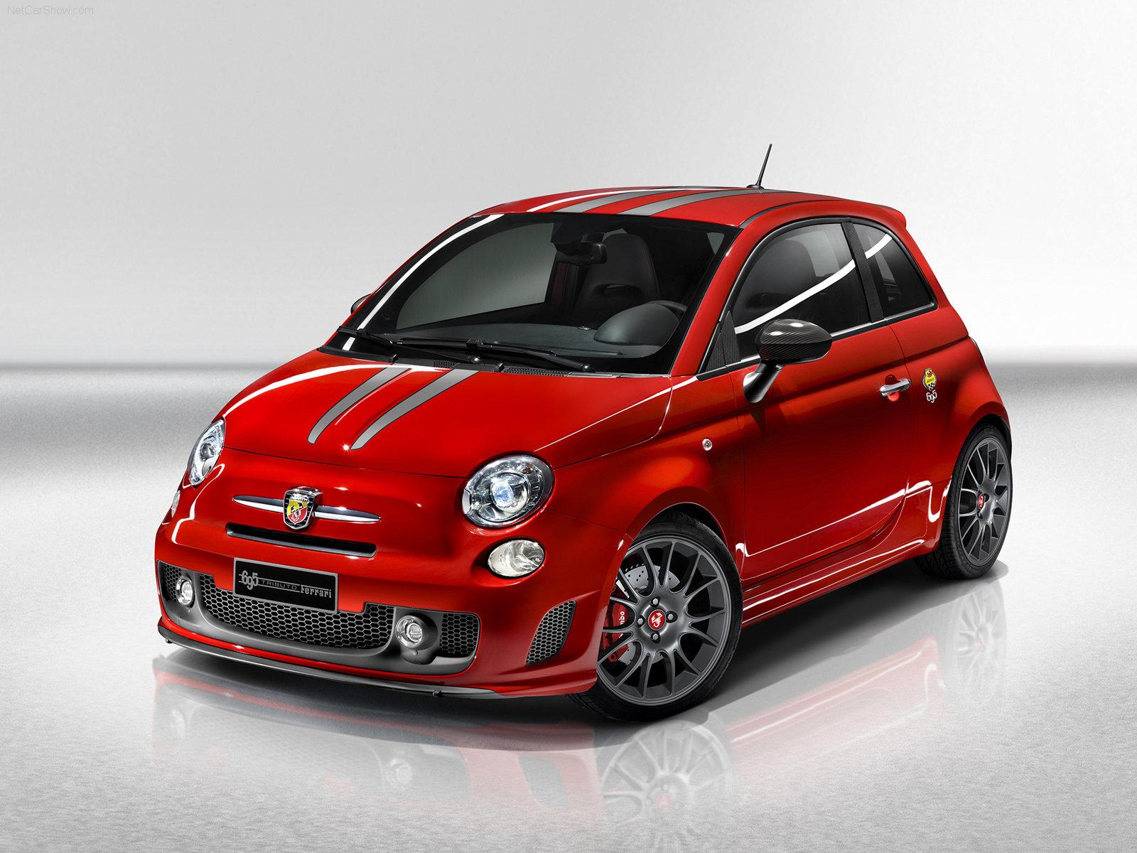 fiat 695 abarth tributo ferrari 2009 1600x1200 wallpaper 01 1 - Cheque en blanco para 7 coches