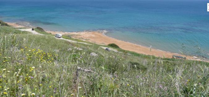 spiaggia cavallucci spiagge rosse capo rizzuto cannella calabria mare