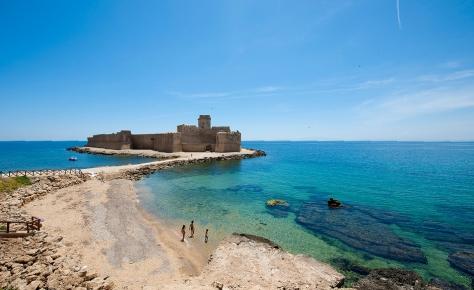 spiaggia le castella capo rizzuto