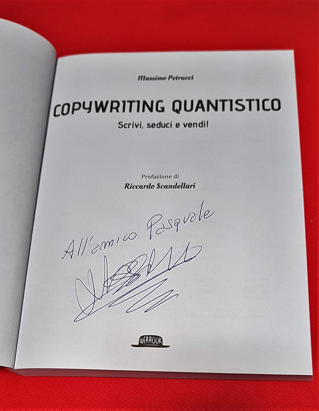 Copywriting quantistico Massimo Petrucci